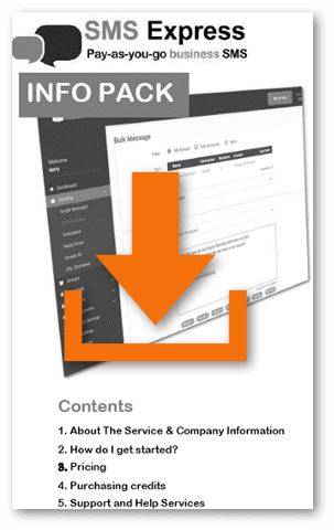 download sms express infopack PDF