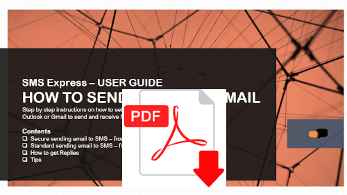 sms from email pdf guide